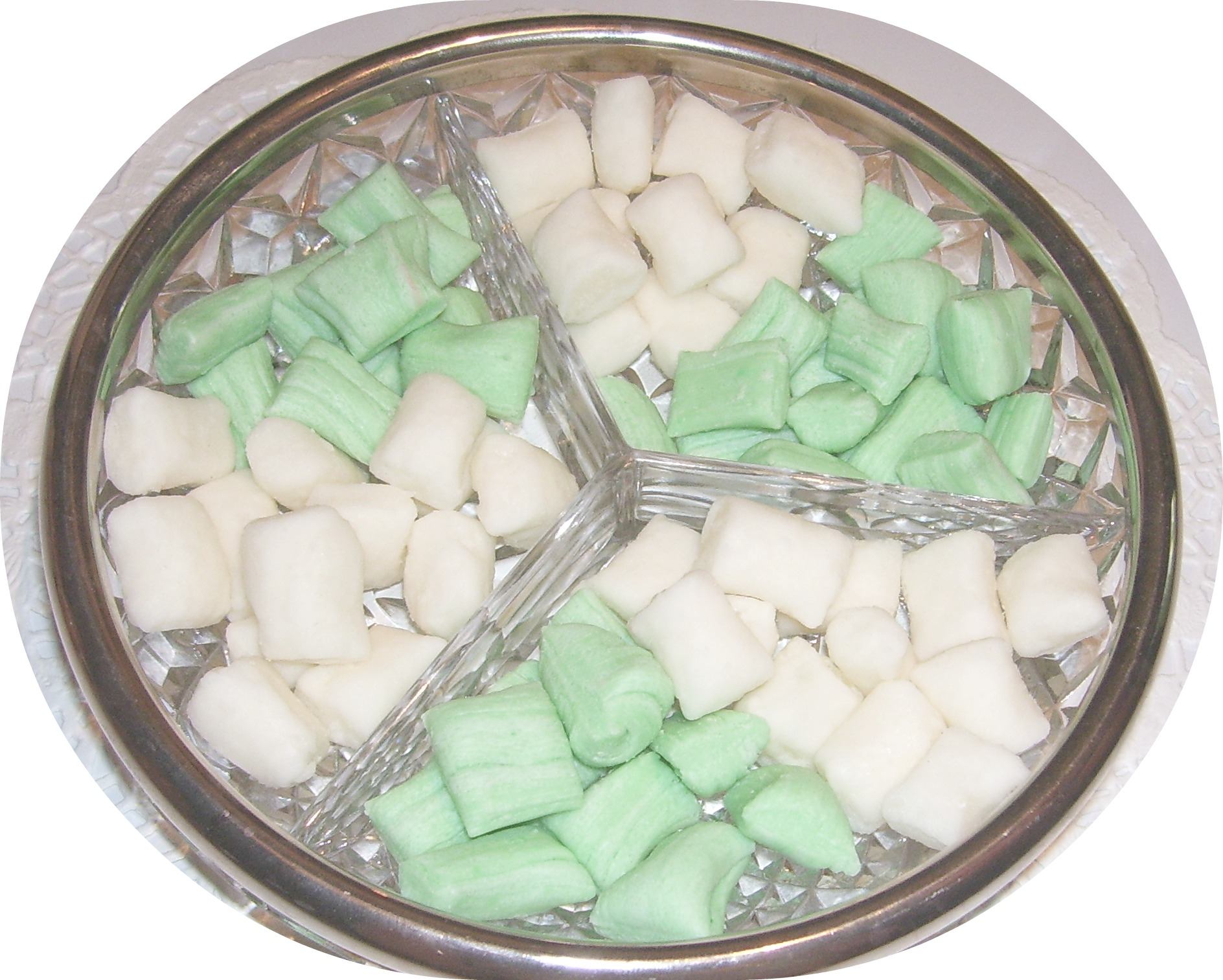 After Dinner Mints made from scratch like Grandma used to make.