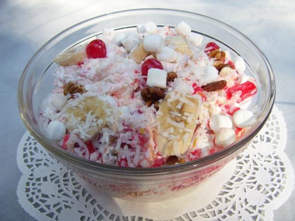 Old Fashioned Ambrosia Salad With Jello