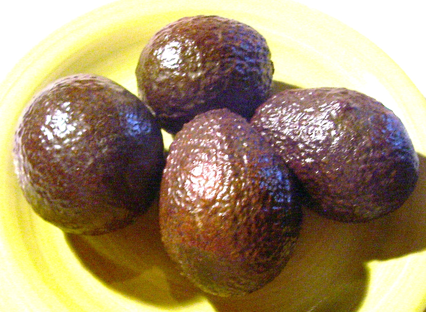 Large Avocados at just the right stage of ripeness for your enjoyment.