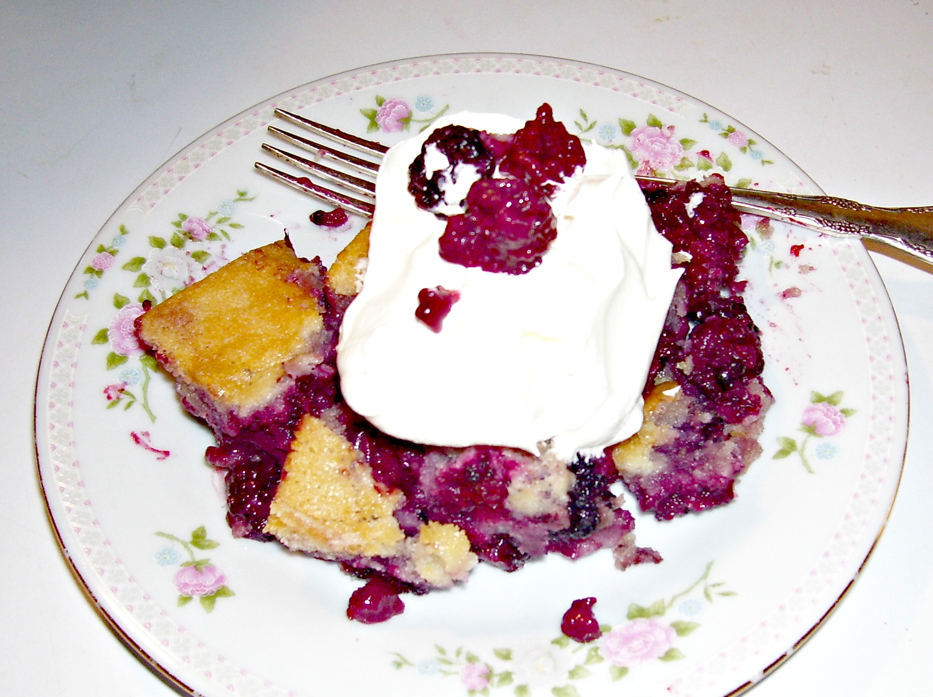 This Blackberry Cobbler Recipe brings back memories of blackberry picking. Share this recipe and your story.
