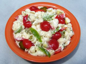 Cold Pasta Salad Easy