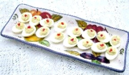 Old Fashioned Deviled Eggs great for a party or everyday meals.