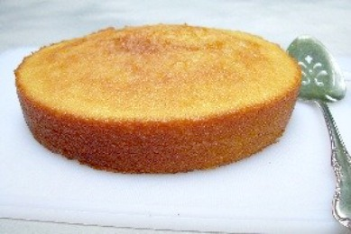 Easy Vanilla Cake made quick with self-rising flour.