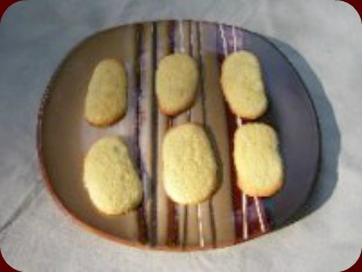 Homemade Lady Fingers Cookies