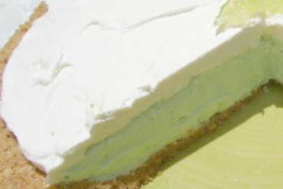 No bake Lime Yogurt Pie
