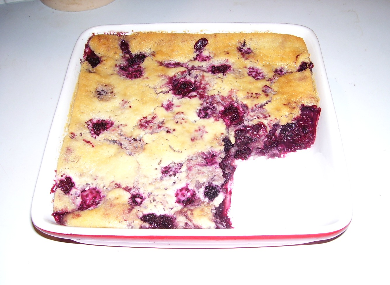 Old Fashioned Blackberry Cobbler... old memories make new.