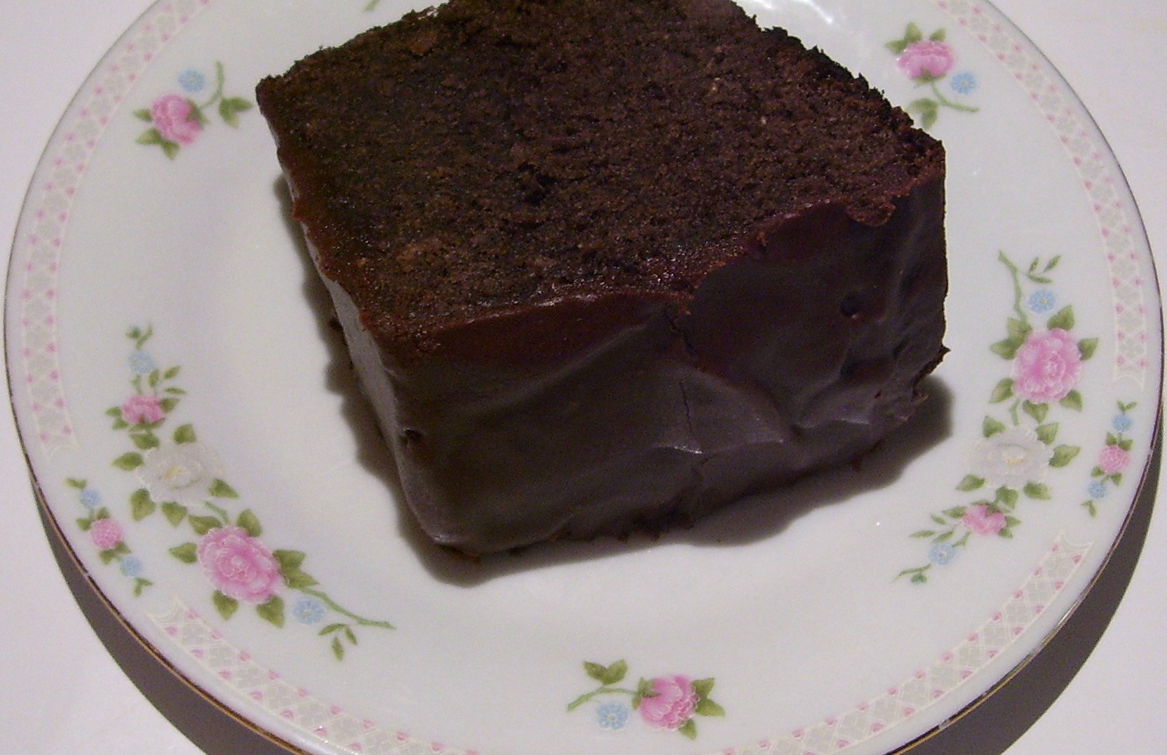 Old Fashioned Chocolate Pound Cake will bring back memories of Grandma's love.