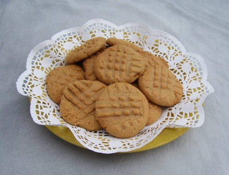 Best, Easy Peanut Butter Cookie made with Homemade Peanut Butter.