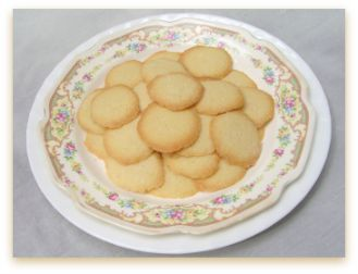 Thin, crispy Vanilla Wafers