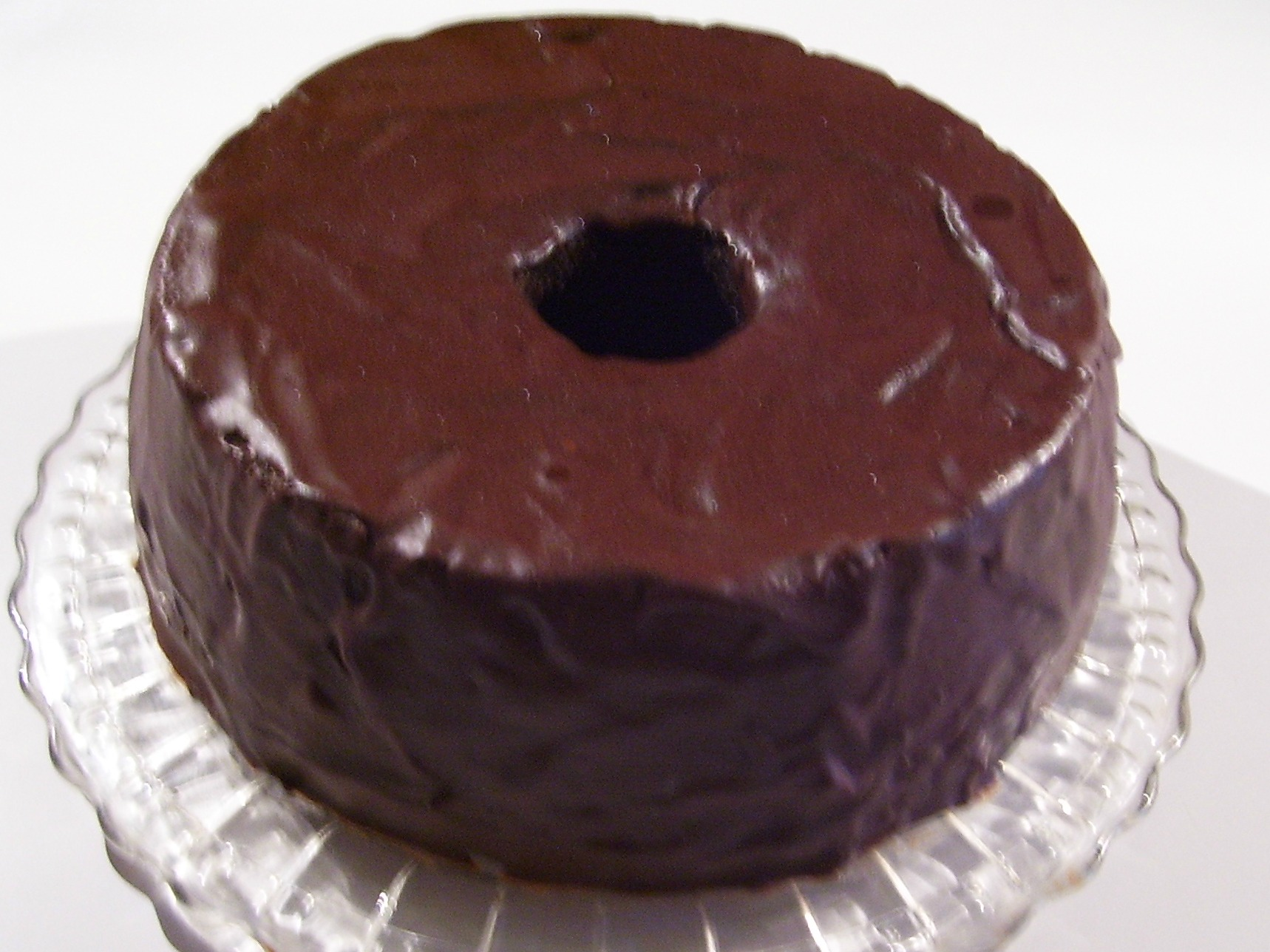 Grandma's Old Fashioned Chocolate Pound Cake is a chocoholic's dream... rich with Dutch Cocoa and Chocolate Frosting.