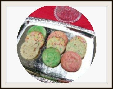 Old Fashioned Christmas Spry Cookies