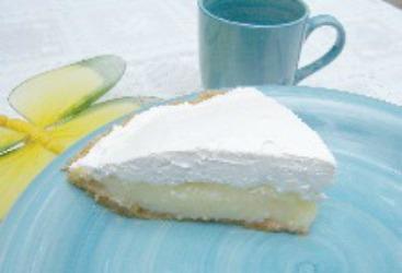 Creamy Lemon Pie and Tart Lemon Meringue Pie