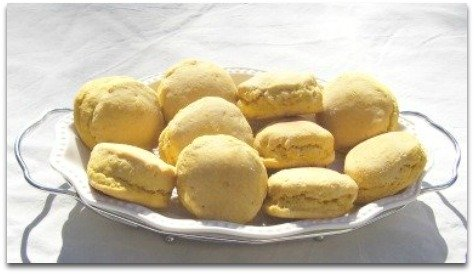Sweet potato biscuits with honey butter recipe.
